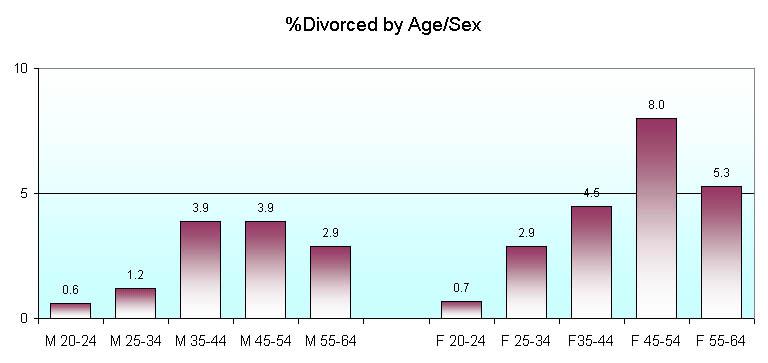 divorce stats in america