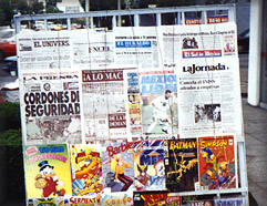 Mexican Newsstand